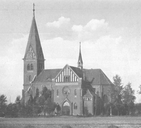 Nieistniejący ewangelicki kościół Świętej Trójcy w Hołdunowie