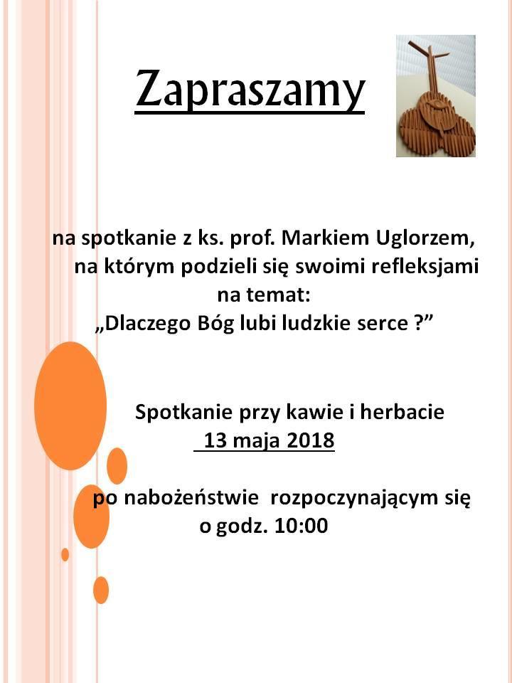 zaproszenie na spotkanie_prof_M_Uglorz